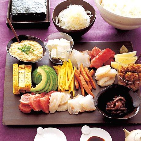 手 巻き 寿司 献立
