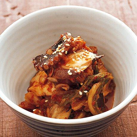 きゅうり キムチ タコ 5分以内に絶対できる(たぶん)キムチとタコとモッツァレラチーズのざっくり和え