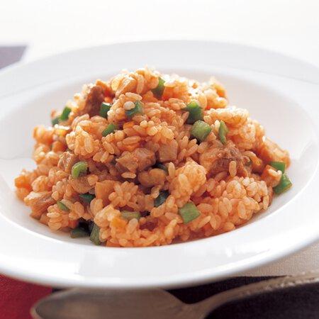 ケチャップ チキン なし ライス チキンライスのレシピ/作り方:白ごはん.com