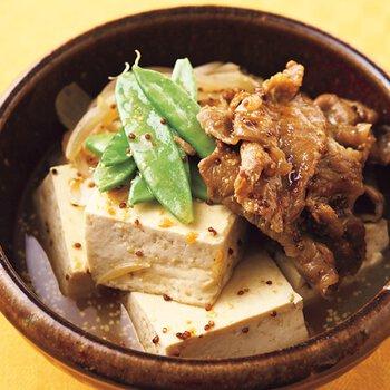豆腐 しらたき 肉 【電気圧力鍋】しらたきと豆腐にだし汁が染み込む!「肉豆腐」を作ってみた
