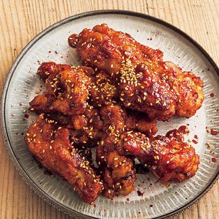 チキン レシピ 人気 ヤンニョム