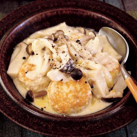 煮 きのこ クリーム 【ごごナマ】イタリアン片岡護さんのスターシェフレシピ「鶏もも肉のきのこクリーム煮」「かきとブロッコリーのスパゲティ」の作り方(1月4日)
